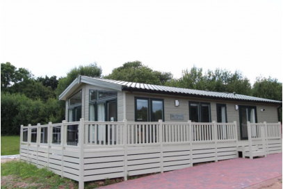 This one is Sold but we can get you another..... Brand New Pemberton Rivendale 40x20 with decking on 12 month holiday plot at Lakeside Country Park