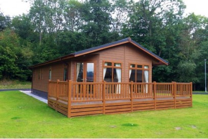 Statley Albion lakewood lodge 40x20 2 bed lake view plot at Poolview Park